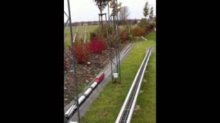 Piko BR 218 mit Güterzug digital mit Sound