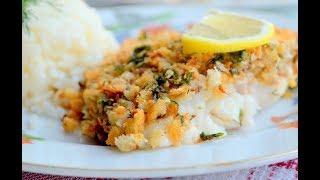 Рыба с орехами и пшеном: рецепт от Алейки
