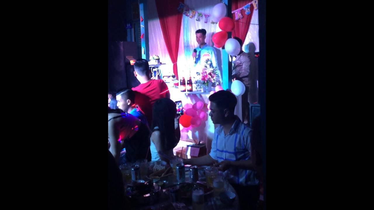 Sinh nhật nhạc công CÔNG VINH,âm thanh TUẤN GA MC LÊ TIẾN