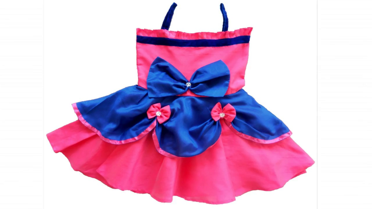 5d38473c5765 Beautiful baby frock design 2017 Cutting and Stitching (DIY) - YouTube