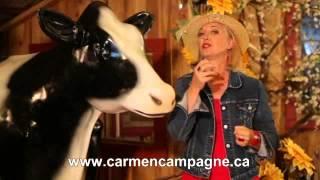 Carmen Campagne - Sur la ferme de Grand-Père - Pub Télé