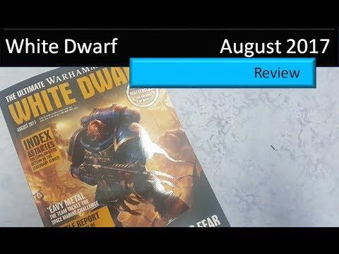 White Dwarf August 2017 Review Warhammer 40K