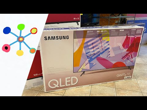 SAMSUNG Q60T QLED Smart 4K TV (2020) (QE55Q60TA)