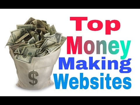Top Ten Money Making Websites, by Annual Revenue and Market Capitalization.