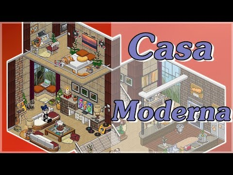 Casa moderna apartamento moderno modern home habbo for Casa moderna habbo
