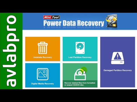 MiniTool Power Data Recovery 7 TEST And REVIEW