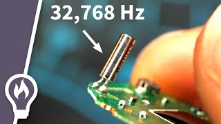 Download How a quartz watch works - its heart beats 32,768 times a second Mp3 and Videos