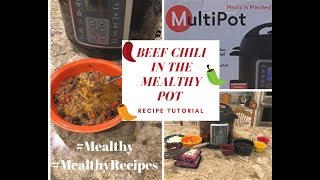 Mealthy MultiPot Beef Chili Recipe Tutorial #Mealthy #MealthyRecipes