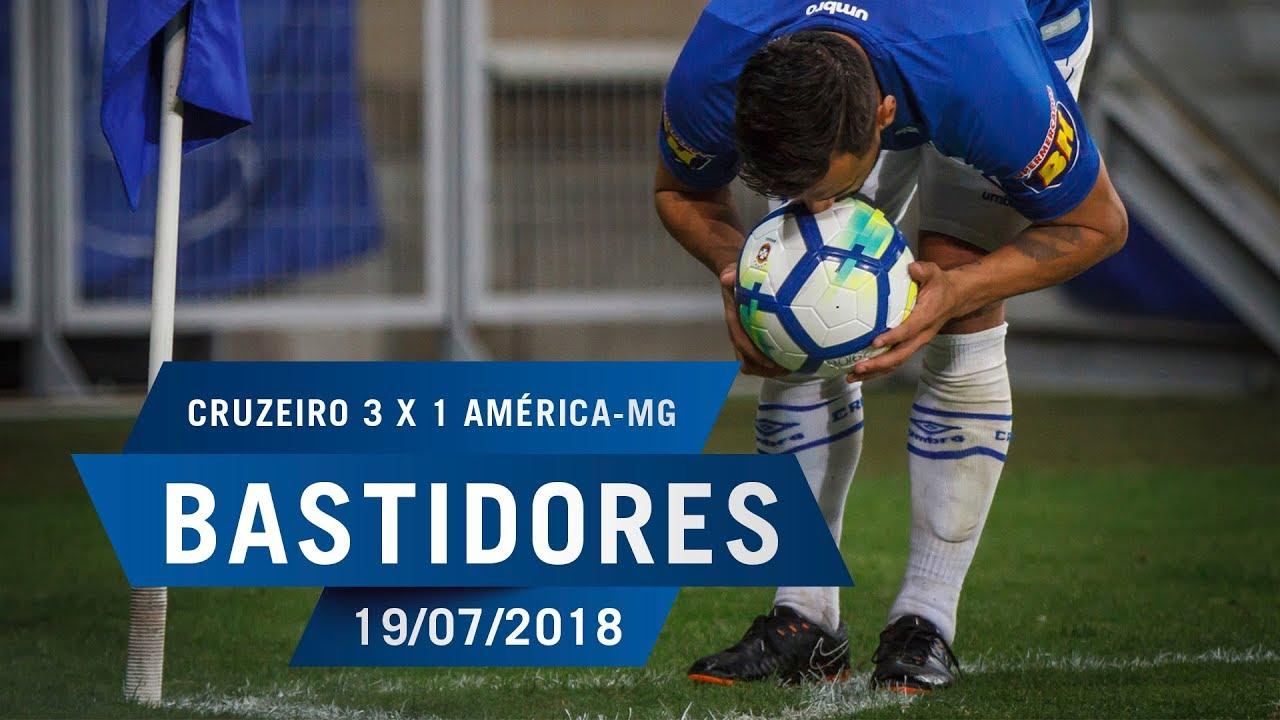 66d52feaf1 19 07 2018 - Bastidores - Cruzeiro 3 x 1 América-MG - YouTube