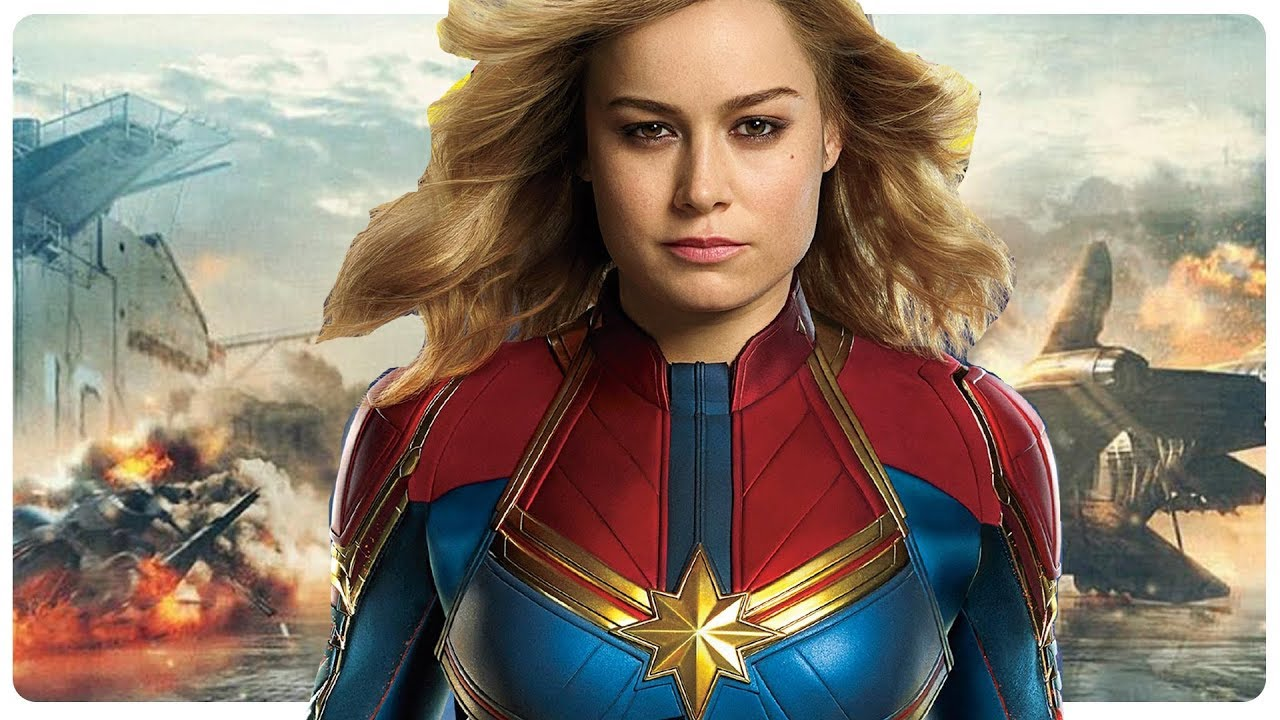 CAPTAIN MARVEL Teaser (NEW 2019) Brie Larson Superhero Movie HD