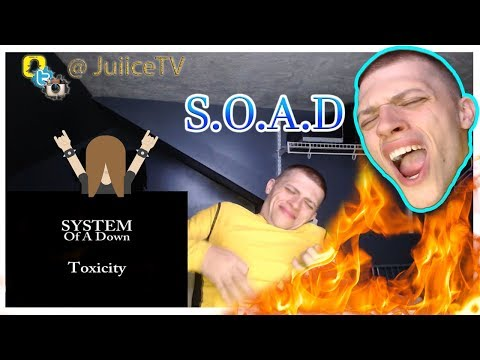 JuiiceTV | System of a Down Toxicity - REACTION | Lyrical Breakdown