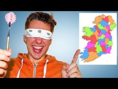 Youtube Map Of Ireland.Throwing A Dart At A Map Of Ireland And Going Wherever It Lands