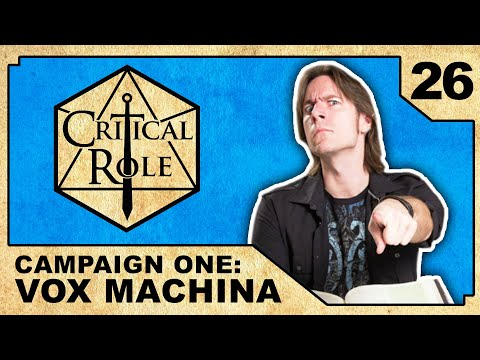 Consequences and Cows   Critical Role RPG Show Episode 26