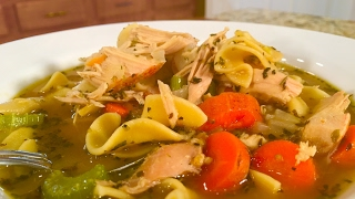 Lazy Man's Chicken Noodle Soup