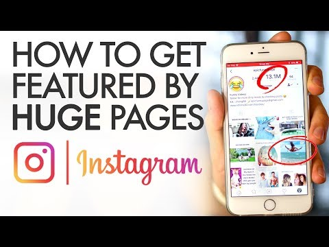 How to Grow Your Instagram Following by Getting Featured on Huge Pages