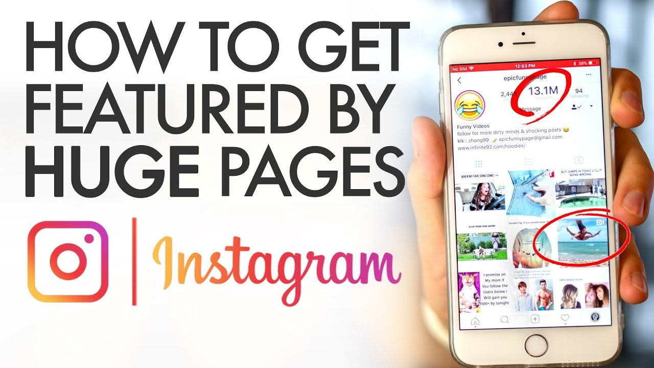 c5e2de168184 How to Get Featured on Huge Instagram Pages