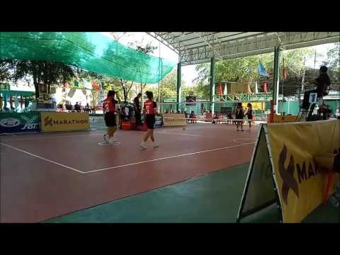 The Champions Sepaktakraw  Women  National Student  2017 Thailand