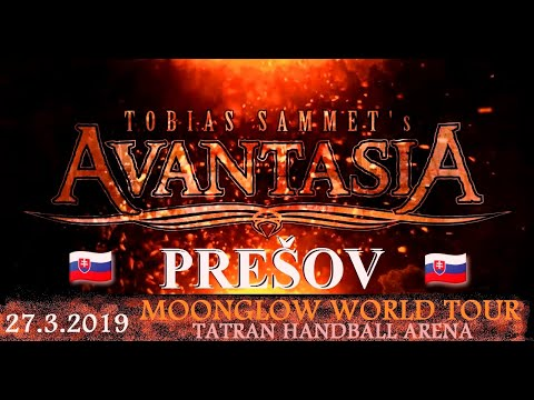 AVANTASIA - PREŠOV 27.3.2019 , full concert , Moonglow World Tour , 1080p Mp3