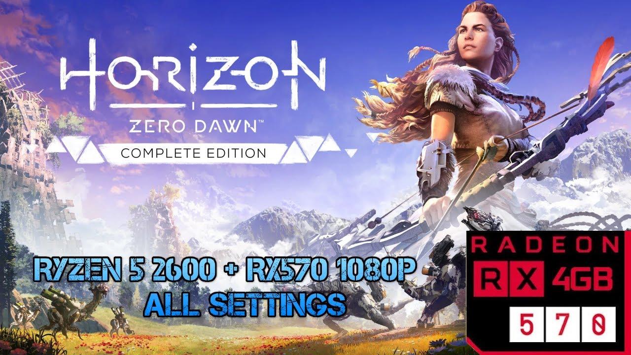 Horizon Zero Dawn - RX 570   Ryzen 5 2600  - 1080p All Settings (Español)