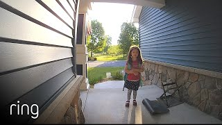 Deployed Dad Get's Messages Halfway Around The World From His Kids Via Ring Video Doorbell | Ring TV