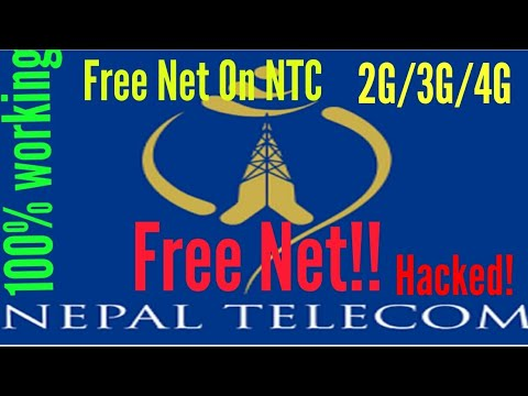 How To Use Free Net In Ntc