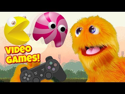 Let's Play Video Games w/ Fuzzy Puppet 🎮 Kid Gaming Flappy Bird PVZ2  Hill Climb Racing CandyCrush