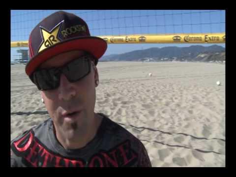 Volleyball Rockstar Energy Drink with Seth Burnham
