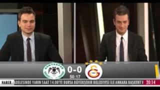 Sabri Sarıoğlunun golünde GS TV stüdyosu