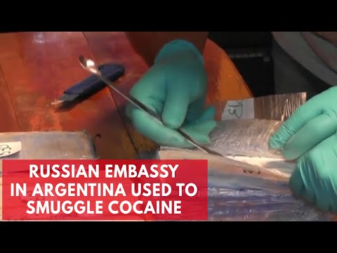 Attempt to traffic $61.5 million of cocaine via Russian embassy in Argentina foiled