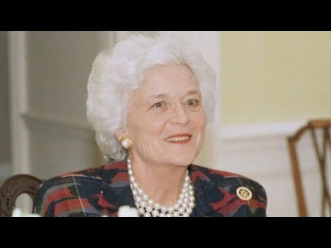 How Barbara Bush's battle with depression shaped her life