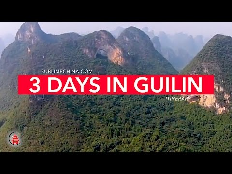 3 Days in Guilin Itinerary | Gulin Itinerary & Tour Suggesti