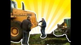 Case 731F Towing Fendt Tractor [Best of Tractor stuck Videos] 2017