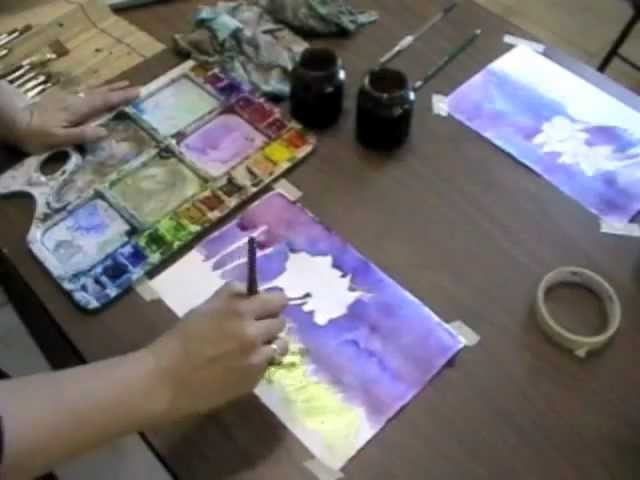 Childrens Easy Watercolor Painting