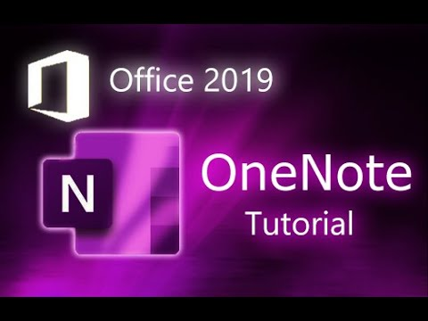 Microsoft OneNote 2019 - Full Tutorial for Beginners [+ General Overview]