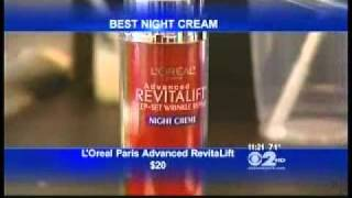 """Firmx Growth Factor Extreme Neuropeptide Serum on WCBS """"New York News"""" September 28, 2010 Video"""
