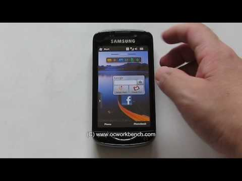 Samsung Omnia Pro B7610 Review Video 2 of 3 @ OCWorkbench