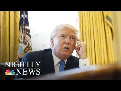 DC, Maryland Sue President Donald Trump Over Constitution's 'Emoluments Clause' | NBC Nightly News