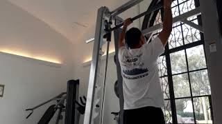 King's Royal Fitness Test Pull-ups