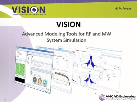 VISION – Amcad Engineering – Radio Frequency and microwave