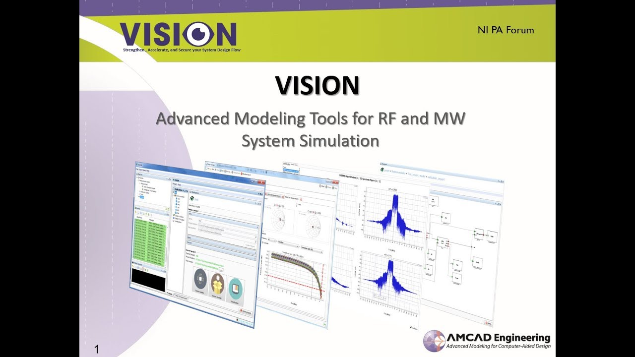VISION – Amcad Engineering – Radio Frequency and microwave challenges