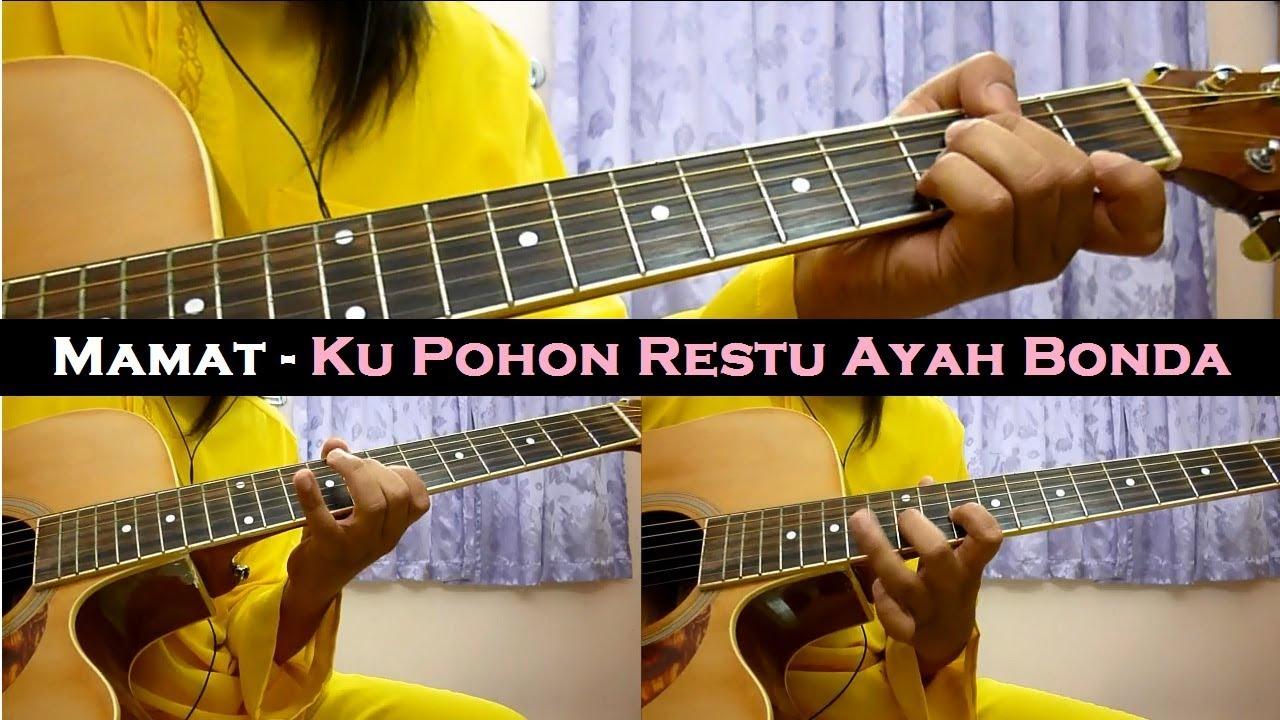Mamat - Ku Pohon Restu Ayah Bonda (Instrumental/Full Acoustic/Guitar Cover)