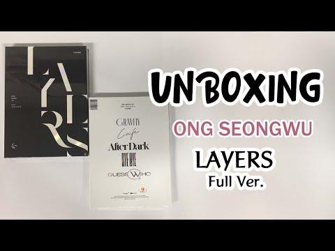 ong-seongwu-first-mini-album-layers-black-&-white-full-ver.-unboxing