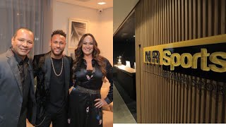 Neymar segue no Brasil e inaugura nova sede da NR Sports Travel logs