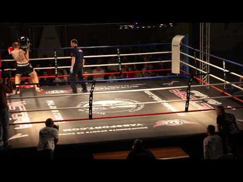 Gianni Sandsak Muay-thai Luxembourg vs Aurélien Fight Boxing Lyon