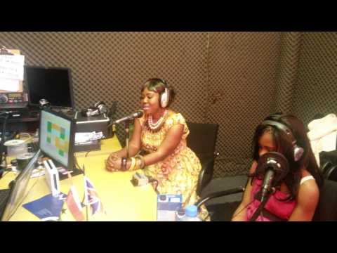 Pepertual Donkor ,Ghana Gospel Artist ,interview at Abibiman Radio U.k