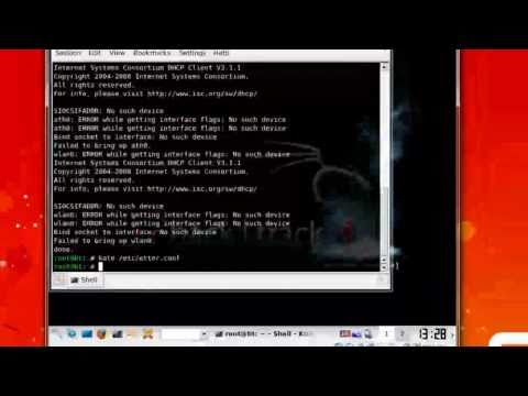 How to Steal Passwords with Ettercap using Backtrack Linux