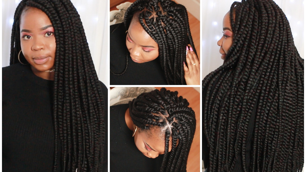 Individual Crochet Senegalese Twists Youtube