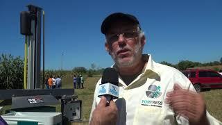 Iguatu - Raimundo Reis apresentou a embutidora de ensilagem úmida no Dia de Campo Betânia