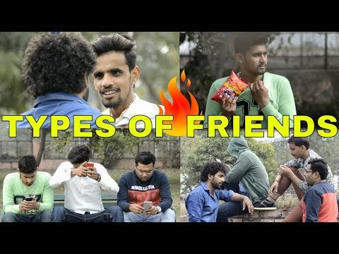Types of friends | funny video | prince verma