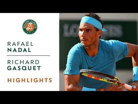 Rafael Nadal vs Richard Gasquet - Round 3 Highlights I Roland-Garros 2018